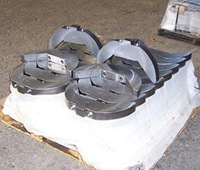 Flame Cutting of a Steel Crankshaft Counterweight for the Energy Industry