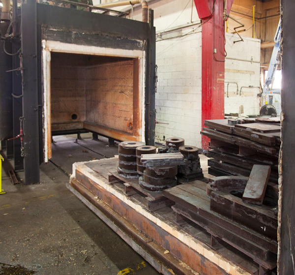 Heat Treating Oven : Heat treating thermal stress relieving annealing